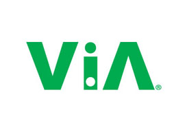 The ViA Logo Green